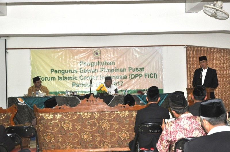 Pengukuhan Pengurus Forum Islamic Center Indonesia