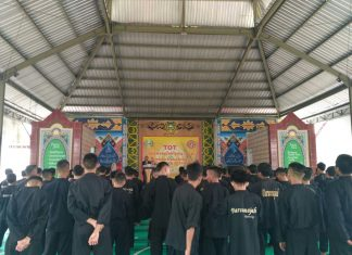 Wow! Darunnajah 2 Cipining Adakan Training of trainer Pencak Silat