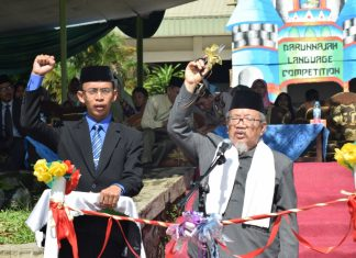 Grand Opening of 4th Darunnajah Language Competition