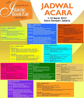Islamic Book Fair ke-12 Tahun 2013