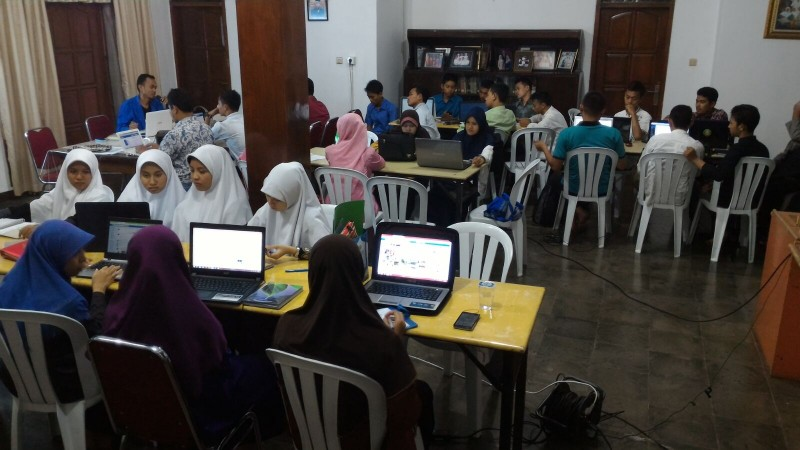 Pelatihan Website dan Internet Marketing Hari Ke-2