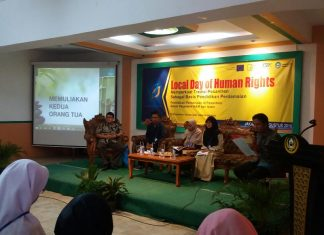 Seminar Local Day of Human Rights: Pesantren Sebagai Pusat Pendidikan Perdamaian di Indonesia
