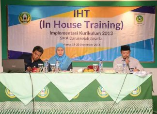 In House Training (IHT) Implementasi Kurikulum ...