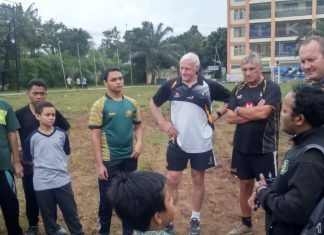 Penguin International Rugby Football Club Adakan Coaching Clinic di Darunnajah Jakarta