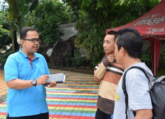 Survey Lokasi Studi Tour MI di Snow Bay Water Park TMII