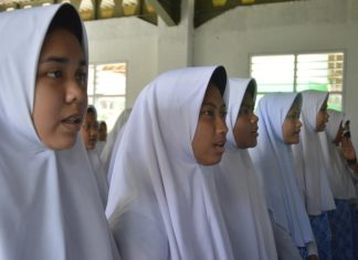 Partisipasi Santri Darunnajah Al-Manshur di Language of Trainning.