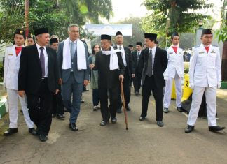 Courtesy Visit Mr. Paul Grigson Australian Ambassador To Indonesia At Darunnajah