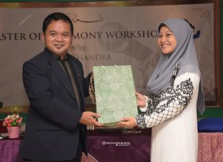 Amazing! Training And Motivation Master Of Ceremony With Mr. Heppy Chandra
