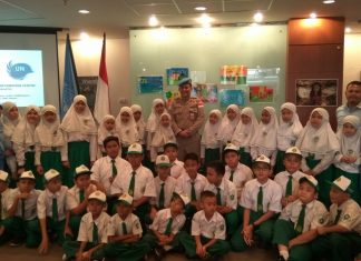 35 Siswa Ikuti International Day of United Nations Peacekeepers di Kantor PBB