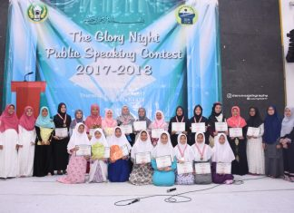 The Glory Night - Public Speaking Contest