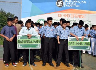 Grand Opening the 5th Darunnajah Language Competation