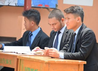 First Day Darunnajah Language Competition