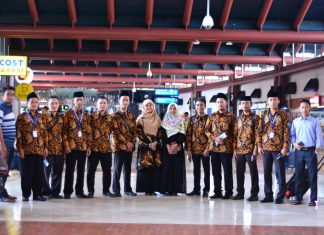 Pelepasan Peserta Arabic And English Language Course Faculty Members Of Darunnajah