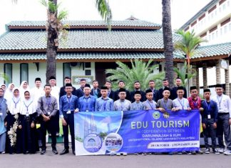 Pelepasan Peserta Edu Tourism in Cooperation Between Darunnajah dan IIUM (International Islamic University Malaysia)