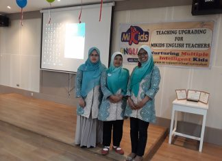 Teaching upgrading for MIKIDS english teachers