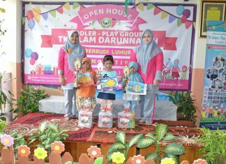 Galeri Open House TK Islam Darunnajah, Play Group Dan Toddler