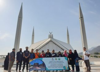 Peserta English And Arabic Language Courses Ikuti City Tour Keliling Islamabad