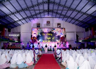 The Glory Night of Jigsaw in Darunnajah Islamic Boarding School