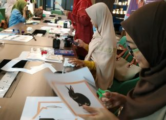 Dosen PIAUD STAI Darunnajah mengikuti workshop DIY Islamic Montessori