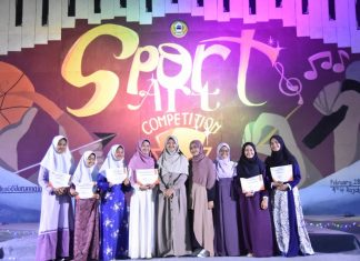 Glory Night of Sport and Art Competition Meriahkan Malam Santriwati Setelah Ujian