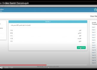 Tutorial Ujian Online Darunnajah 14 di Channel Santri TV